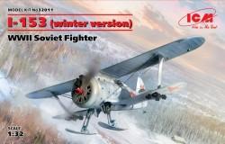 I-153(winter version),WWII Soviet Fighter