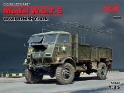 Model W.O.T.6,WWII British Truck
