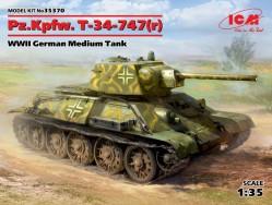 Pz.Kpfw.T-34-747(r)WWII German Medium Tank