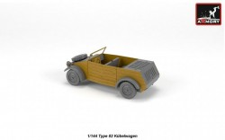 VW Type 82 Kubelwagen, resin kit w/ PE parts