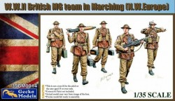WWII British MG Team in March