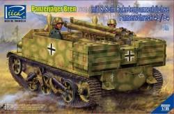 Panzerjäger Bren 731(e)mit 8,8cm Raketen -panzerbüchse Panzerschreck 43/54