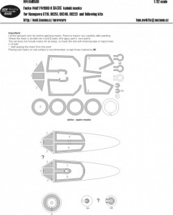 Focke-Wulf FW190D-9 BASIC kabuki masks