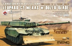 Main Battle Tank Leopard C2 MEXAS w/Dozer Blade