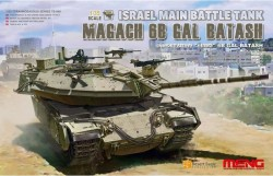Israel Main Battle Tank Magach 6B GAL BATASH