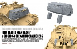 Israel Main Battle Tank Magach 6B GAL BATASH Fully Loaded Rear Basket