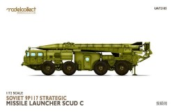 Soviet 9P117 Strategic missile launcher (SCUD C)
