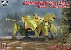Fist of War German WWII sdkfz 553/A medium fighting Mech