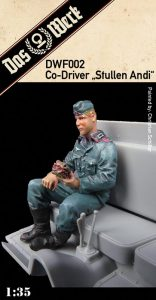 """Co-Driver Figure """"Stullen Andi"""""""