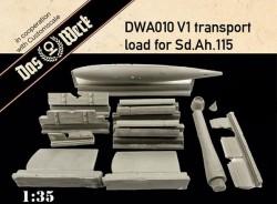 V-1 in transport for Sd.Ah.115 load