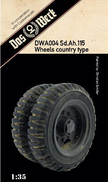 Weighted tires for Sd.Ah.115 (country pattern)