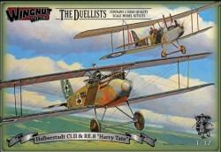 """Halberstadt Cl.II & RE.8 """"Harry Tate"""" Duellists"""