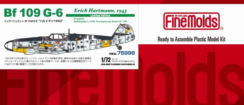 Bf-109 G-6 Hartmann 1943
