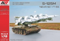 """S-125M """"Neva-SC""""/T-55 SA-3 """"GOA"""" Missile System on T-55 chassis"""