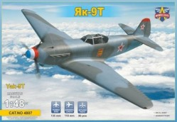 Yak-9 T Soviet WWII fighter
