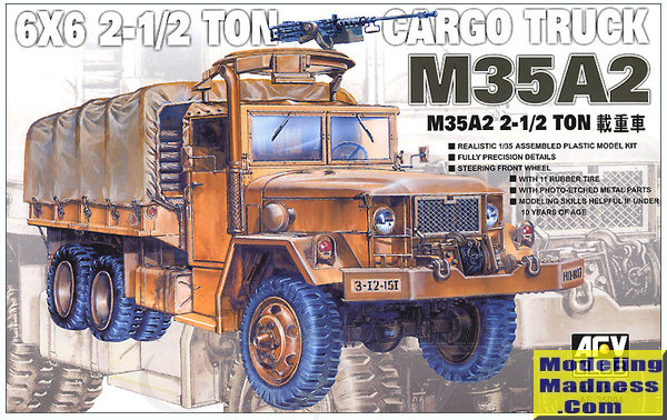 M35A2 2 1/2T Cargo Truck (RE-Produktion)