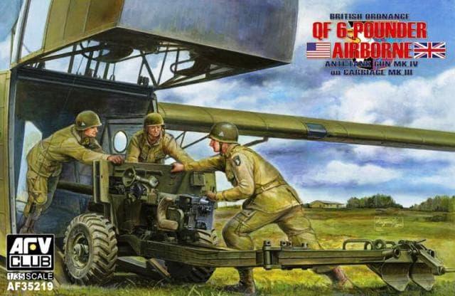 British Mk.4 6pdr airborne anti-tank Gun