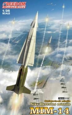 MIM14 NIKE HERCULES MISSILE ( INTERNATIONAL VERSION CONTAINS US , JP , ROK, GERMANY...DECALS )