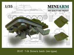 T-34 Driver's hatch (two types)