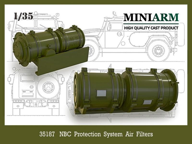 NBC protection system air filters for GaZ Tiger-M, Pantsir-S1 (SA 22)