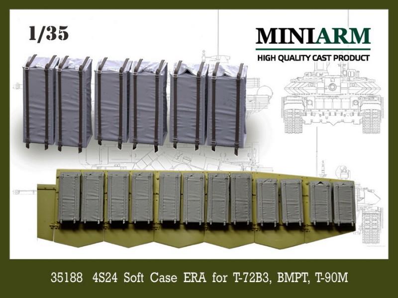 4S24 soft case ERA for T-72B3, BMPT, T-90MS