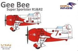 Gee Bee Super Sportster R1&R-2 (2 in 1)