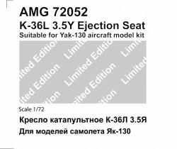 K-36L 3.5Y Ejection seat Yak-130