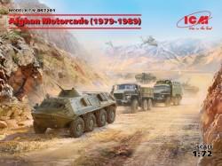 Afghan Motorcade 1979-1989 (URAL-375D, URAL-375A, ATZ-5-375, BTR60PB)
