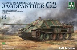 Jagdpanther G2 German Tank Destroyer Sd. Kfz.173 w/full interior kit