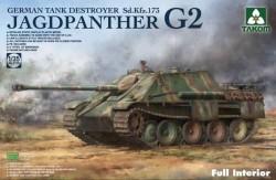 Jagdpanther G2 German Tank Destroyer Sd. Kfz.173 w/full interior kit