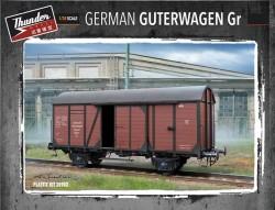 German Gedeckter Güterwagen Gr type 15t