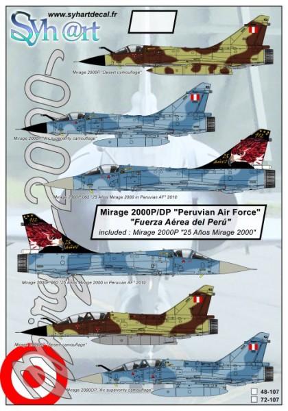 "Mirage 2000P/DP ""Peruvian Air Force"""
