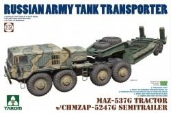 MAZ-537G TRACTOR w/CHMZAP-5247G trailer