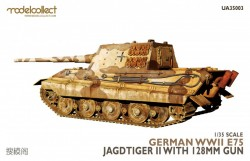German WWII E75 jagdtiger II with 128mm gun