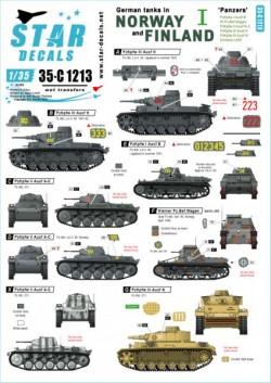 German tanks in Norway & Finland # I