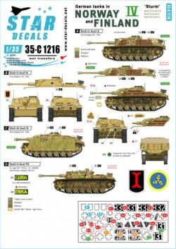German tanks in Norway & Finland # IV