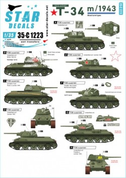 Red Army T-34 m/1943