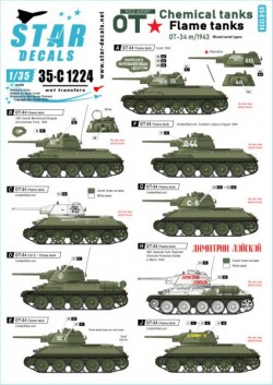 Red Army OT-34 Flame tanks