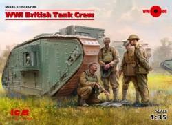 British Tank Crew (4 figures)