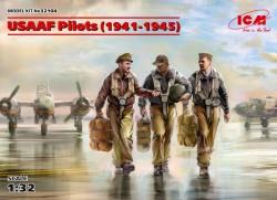 USAAF Pilots (1941-1945) (3 figures)