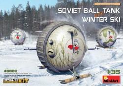 Soviet Ball Tank with Winter Ski Interior Kit