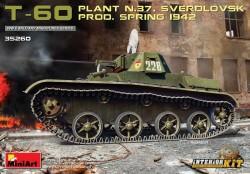 T-60 (Plant No.37,Sverdlovsk) Prod.Spring 1942. Interior Kit