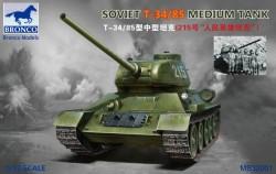 Soviet T-34/85 Medium Tank 1/32