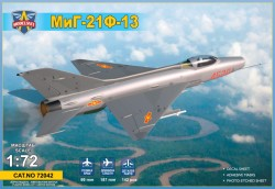 MiG-21F-13 supersonic jet fighter