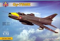 Sukhoj Su-7BMK - Soviet jet fighter-bomber, export version