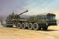 Russian KZKT-7428 Transporter with KZKT- -9101 Semi Trailer