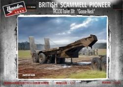 "British Scammell Pioneer TRCU30 Trailer 30t ""Goose-Neck"""