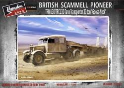 British Scammell Pioneer TRMU30/TRCU30 Tank Transporter