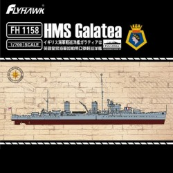 Light Cruiser HMS Galatea