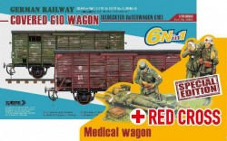German Railway Covered G10 Wagon Red Cross Special Editions